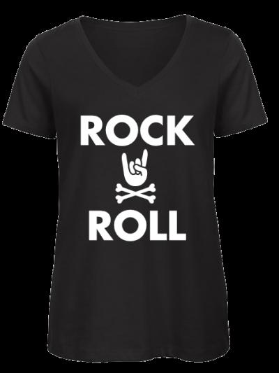 Rock n roll vrouwen T shirt