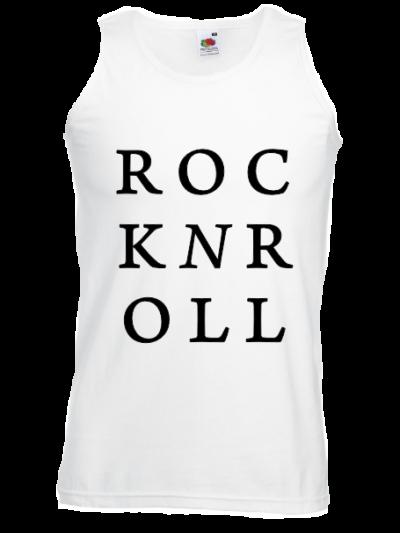 Rocknroll hipster tank top